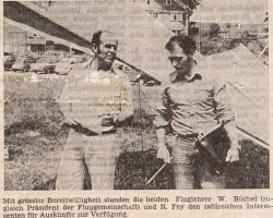 Rolf Fey (rechts) & Werner Büchel