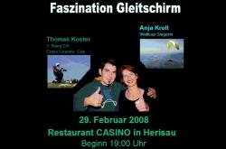 Vortragsabend Casino Herisau