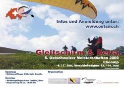 Flyer OSTSM 2009